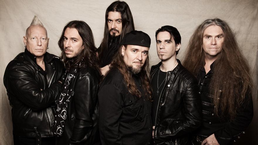 La banda de heavy metal Avalanch.