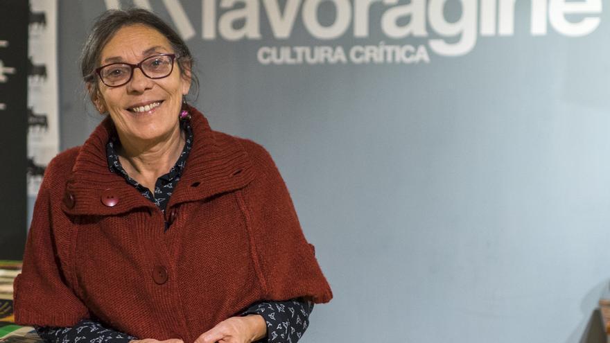 Marianella Ferrero durante la entrevista con eldiario.es.   ROMÁN GARCÍA