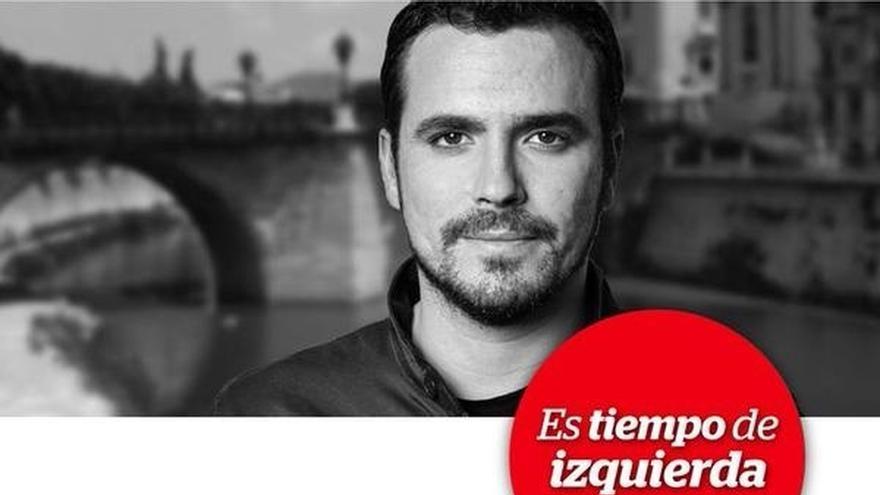 Garzón (IU) ofrece este domingo un mitin en la pérgola de San Basilio de Murcia