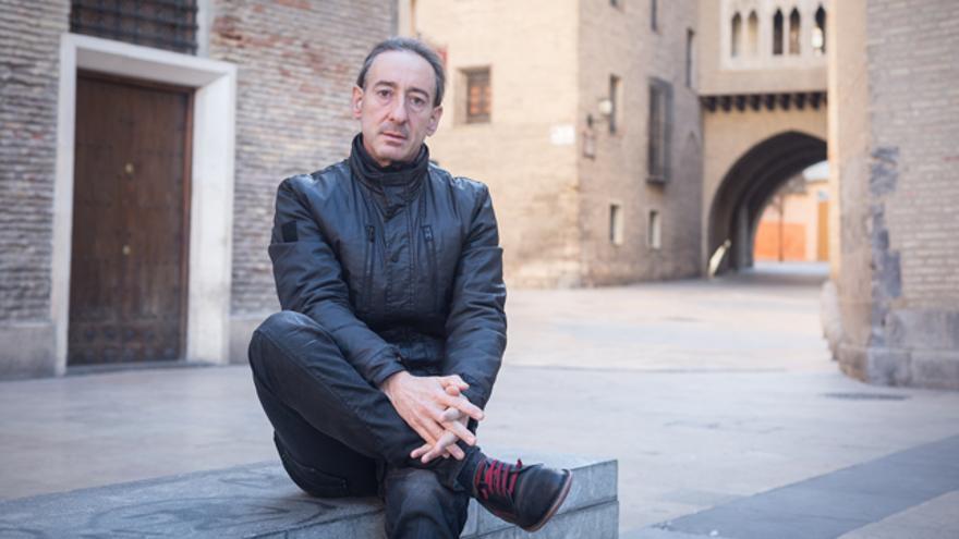 El presidente de SOS Racismo Aragón, José Luis Aliaga.