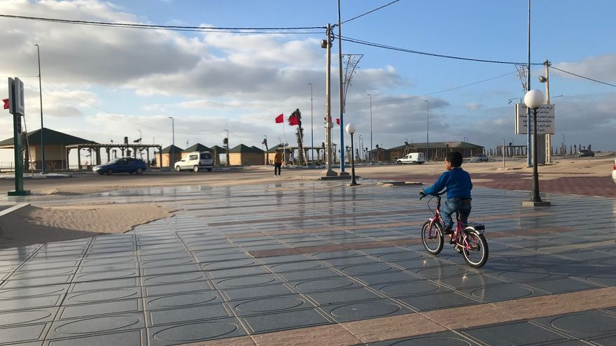 Ciudad de Tarfaya, al sur de Marruecos.