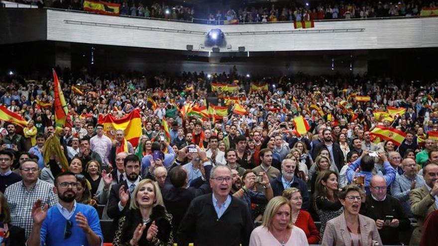"Abascal lamenta que el separatismo ha pasado ""de la Generalidad a la Moncloa"""