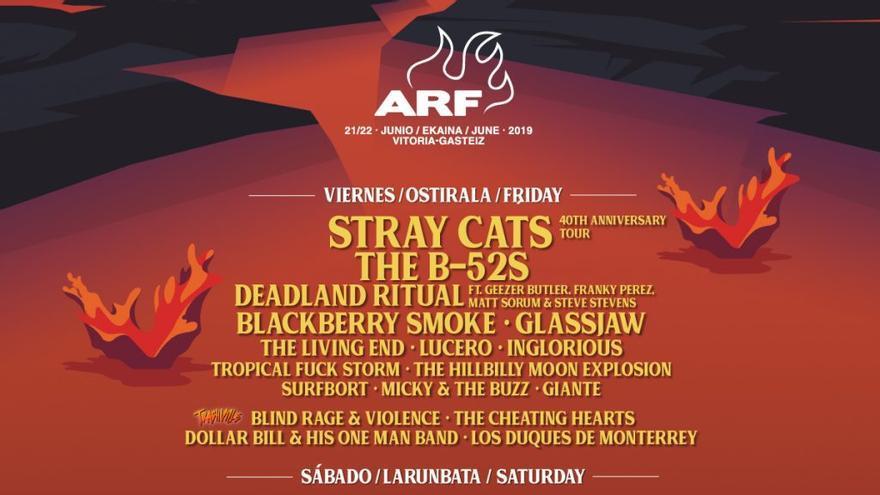 Cartel del ARF 2019