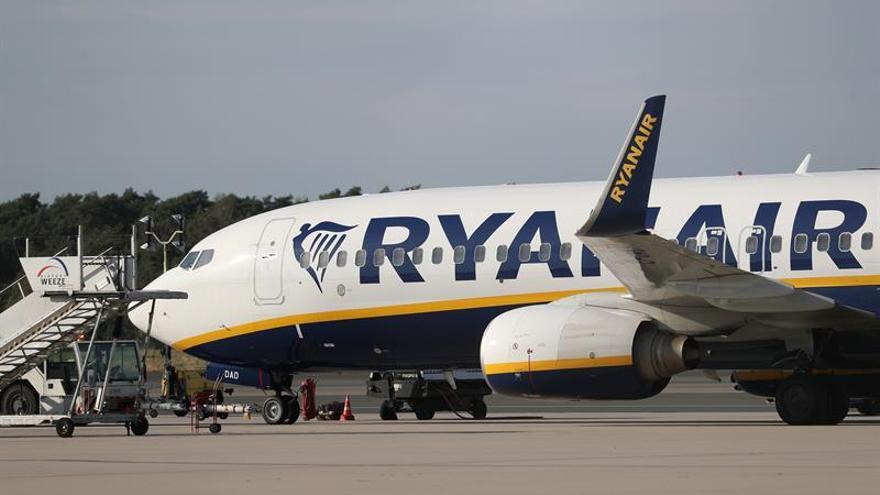 Ryanair transportó 10,4 millones de pasajeros en septiembre, el 11 % más