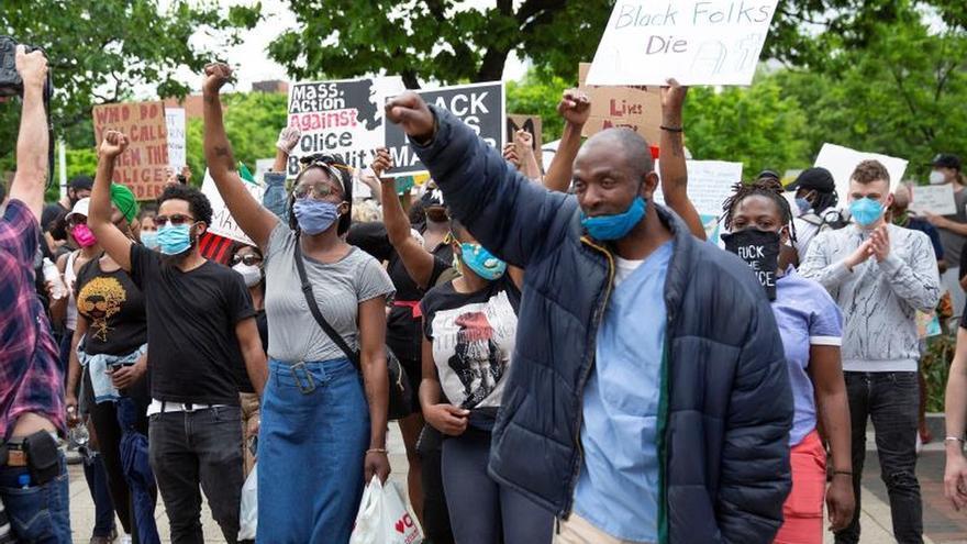 Un joven muere tiroteado en Detroit durante las protestas por la violencia policial contra las personas afroamericanas