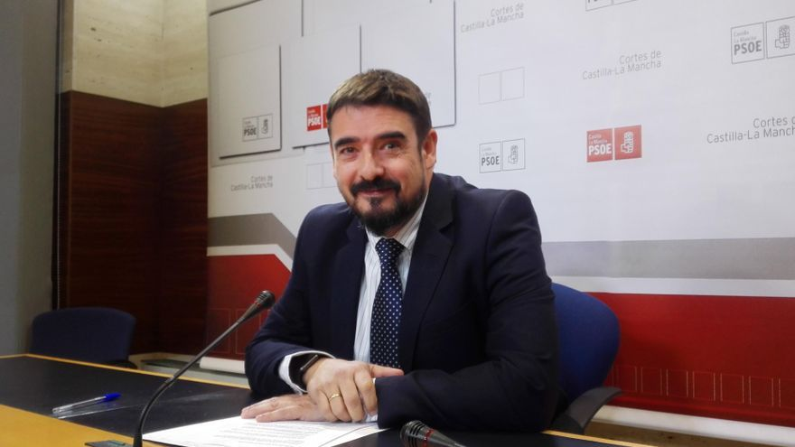 El presidente del Grupo Socialista en Castilla-La Mancha, Rafael Esteban