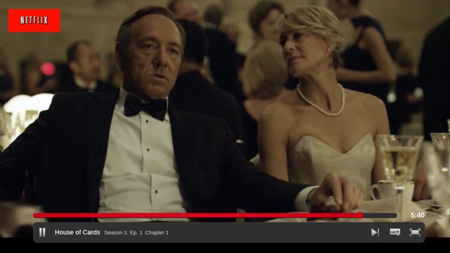 Kevin Spacey y Robin Wright, en los roles del maquiavélico matrimonio Underwood. «House of Cards» es una serie original de Netflix que destruye el cerebro de las personas de bien.