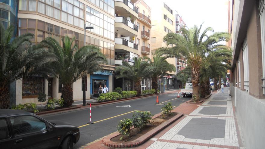 Calle Luis Morote en Las Palmas de Gran Canaria.