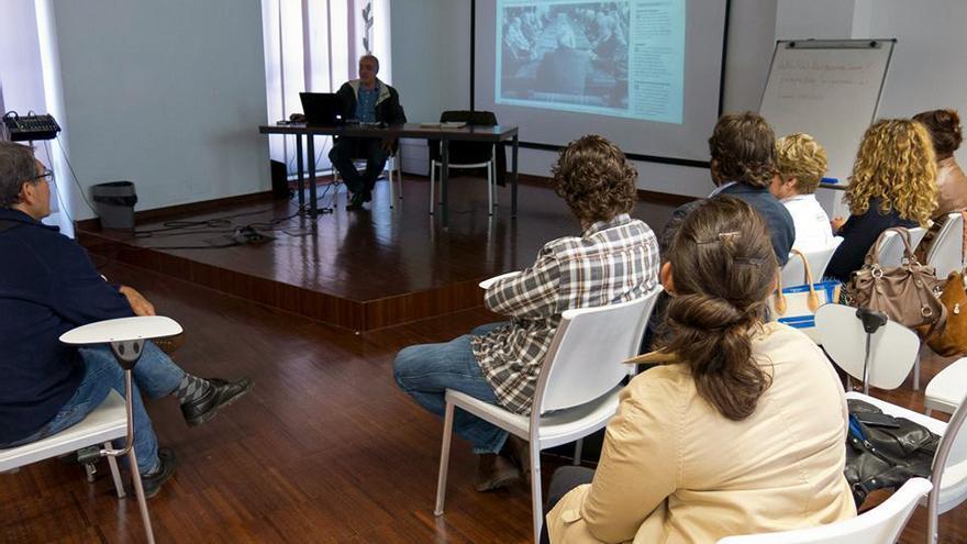 Matías Alonso, del Grupo Para la Recuperación de la Memoria Histórica