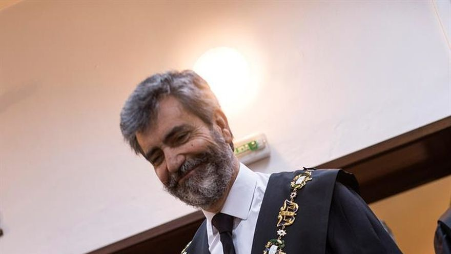 El presidente del Supremo y del CGPJ, Carlos Lesmes