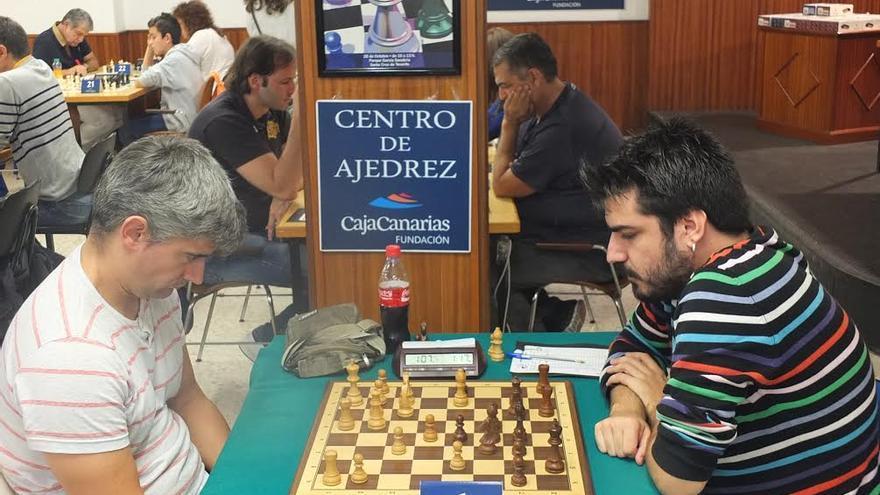 Adrián Lestao y Alberto Hernández. Foto: Fundación CajaCanarias.