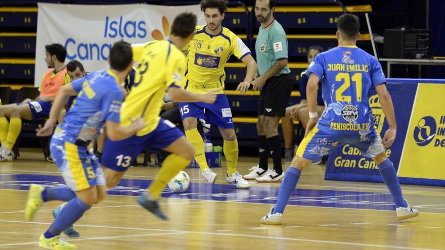 Imagen del encuentro entre el Gran Canaria FS y el Jumilla.