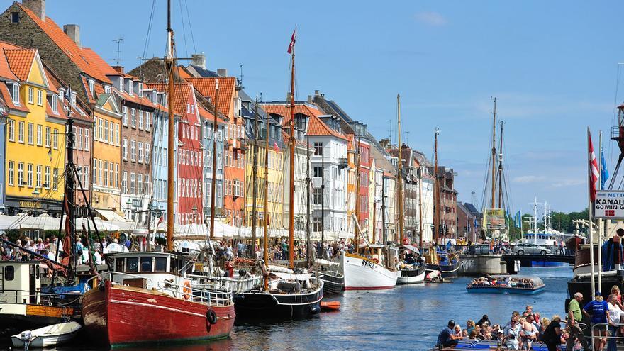Nyhavn, la imagen más paradigmática de Copenhague. Martin Nikolaj Christensen