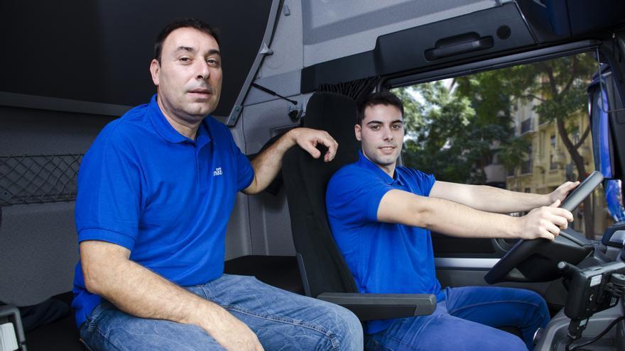 Federico y Óscar Escrivà, padre e hijo