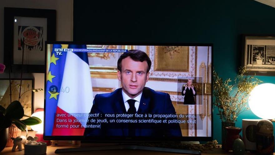 Macron anuncia que se retrasa la segunda vuelta de las elecciones municipales