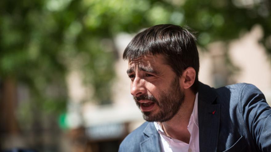 Álvaro Sanz, coordinador general de IU Aragón.