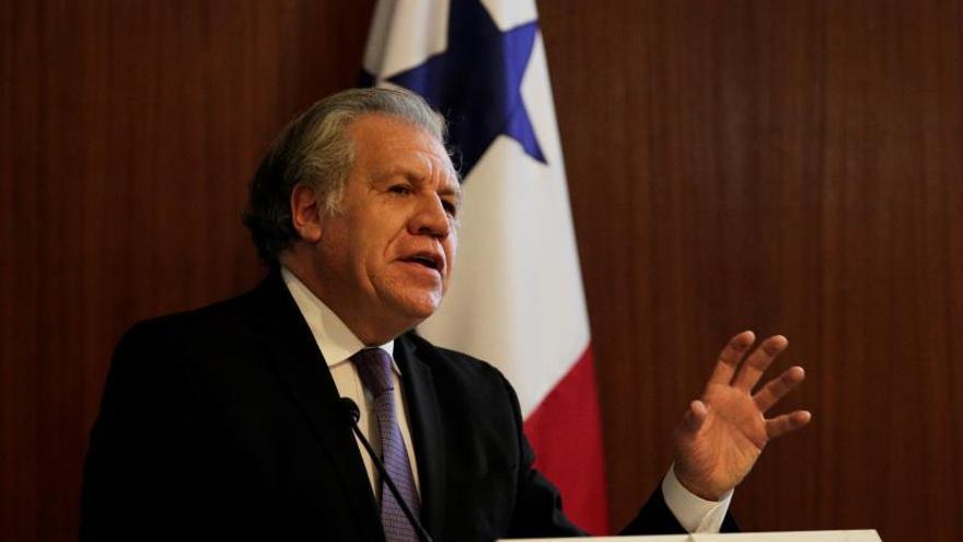 Almagro pide ayuda humanitaria para 7 millones de personas en Venezuela