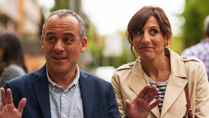 Javier Gutiérrez y Malena Alterio, en la segunda temporada de Vergüenza