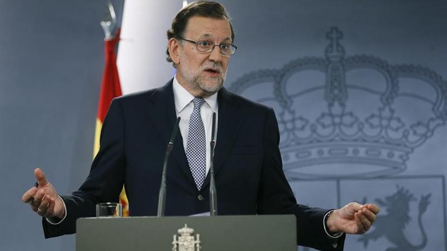 Rajoy acepta intentar la investidura pero no aclara qué hará si no logra apoyos