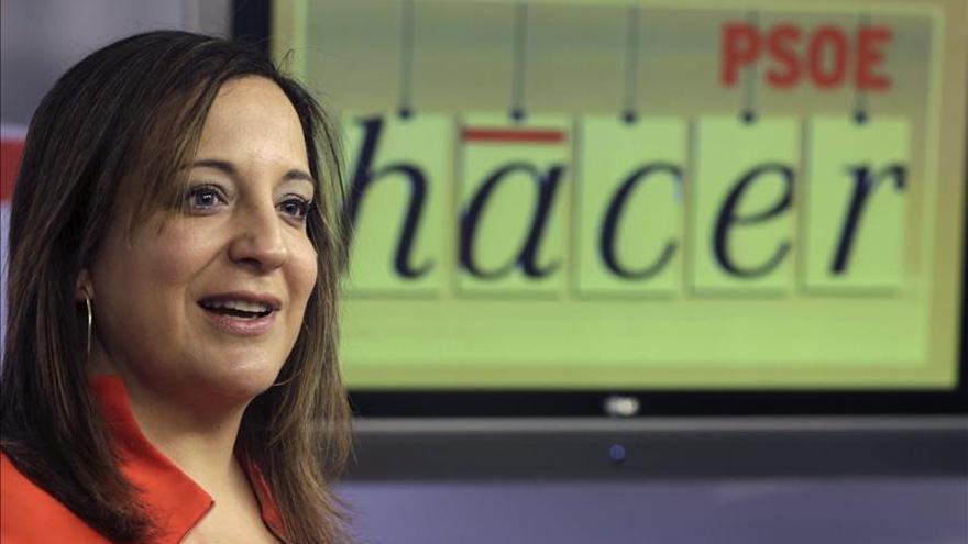 """Iratxe García dice que """"Rajoy ha sido el gran aliado de las exigencias de Merkel"""""""