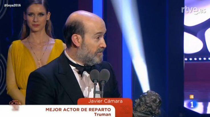 Javier Cámara, Mejor actor de reparto; Irene Escolar logra su primer galardón