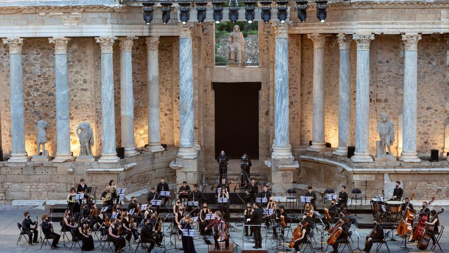 "Schumann y Brahms dialogan en la ""opertura"" del Festival de Mérida"