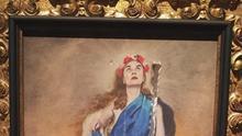 Recogidas más de 51.000 firmas para pedir a la Diputación que retire el cuadro 'Con flores a María'