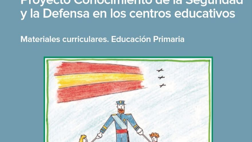 Portada de la unidad didáctica elaborada por Educación y Defensa para introducir contenidos sobre seguridad en colegios