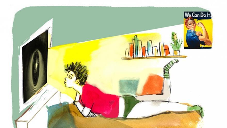 Ilustración de Núria Frago para Pikara Magazine