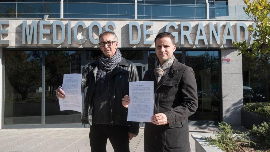 El Colegio de Médicos defiende que no puede abrir expediente a Candel con la recogida de firmas