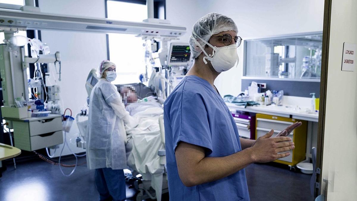 Crece la ocupación de camas de terapia intensiva.