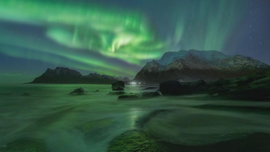 Durante el invierno se dan las condiciones más propicias para ver auroras boreales. Daniel Zafra