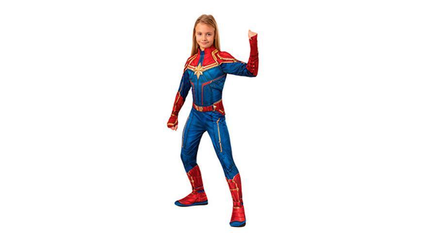 Disfraz Capitana Marvel.