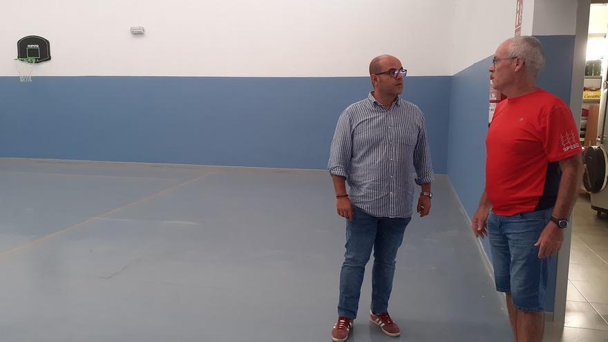 Visita a las obras del concejal Francisco Leal.
