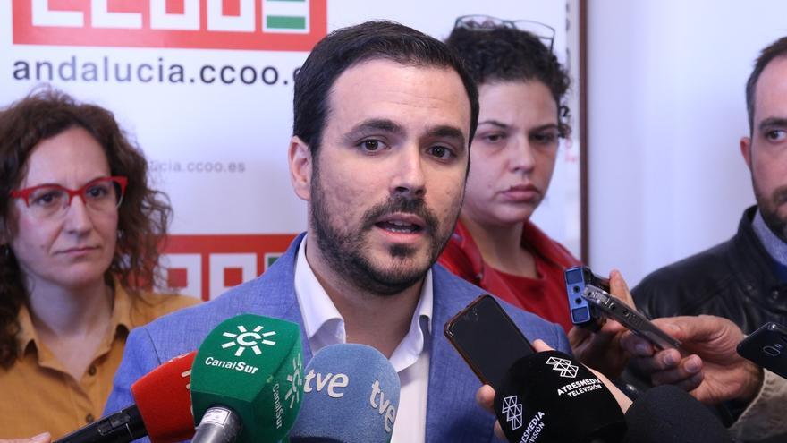 """Garzón lamenta que Sánchez no negara en el debate que pactará con Cs y le afea """"estimular"""" la presencia de Vox"""