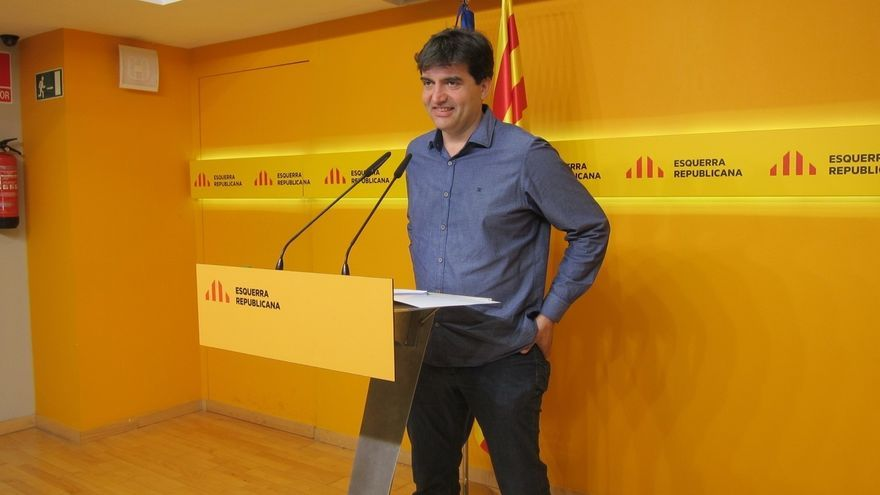 ERC celebra que la CUP no fije el referéndum unilateral como línea roja a Puigdemont