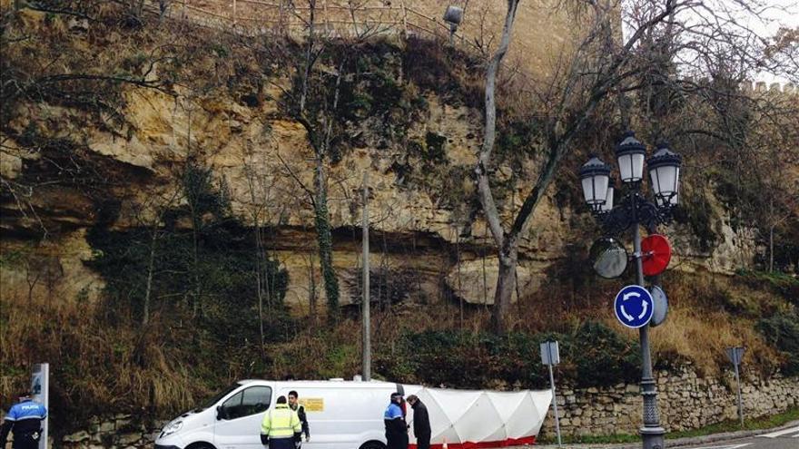 Muere un hombre tras caer de la muralla medieval de segovia for Mural nuestra carne