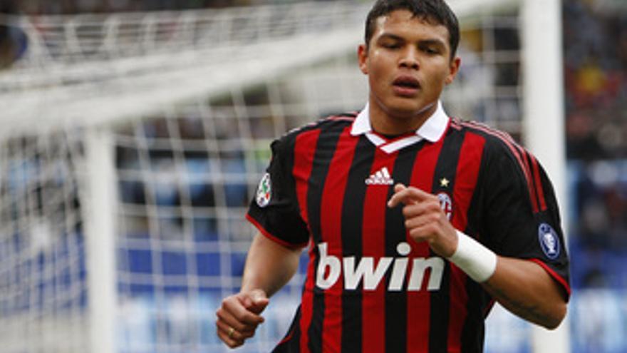 El defensa brasileño Thiago Silva