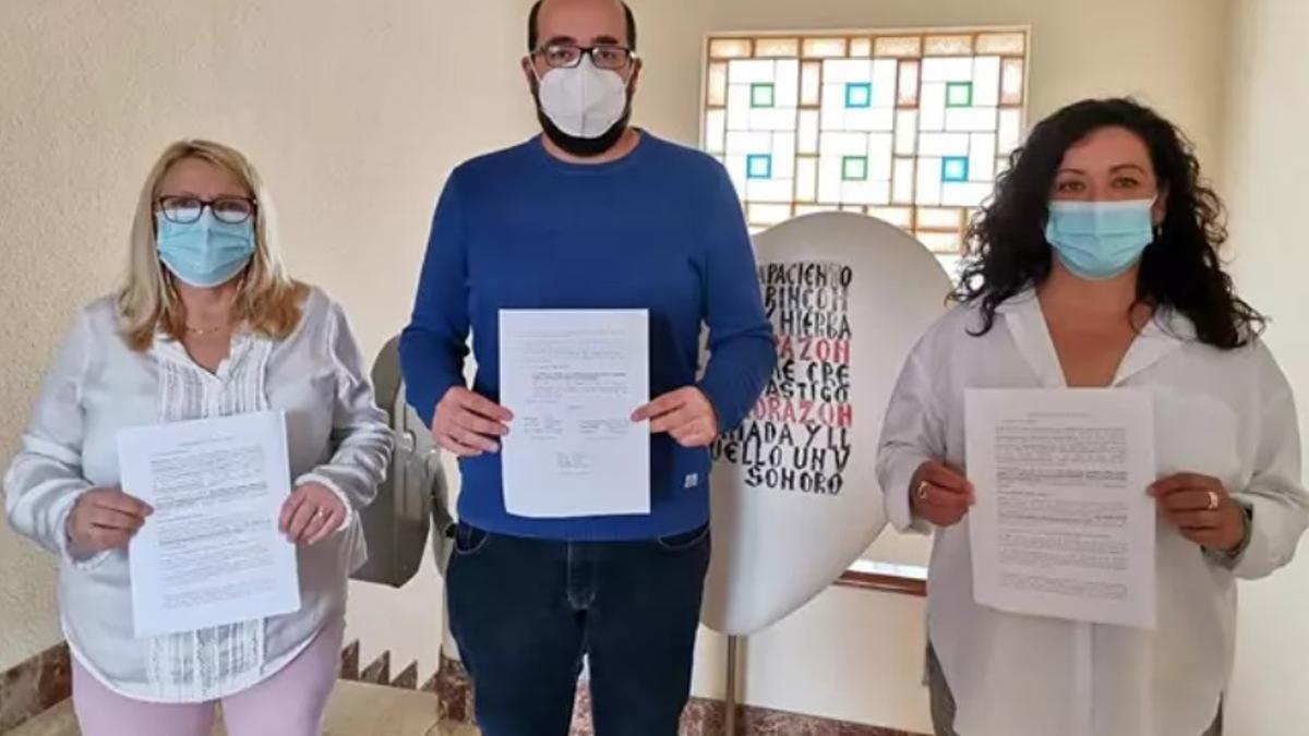 Representantes de PSPV, Compromís y Podem han presentado el recurso.