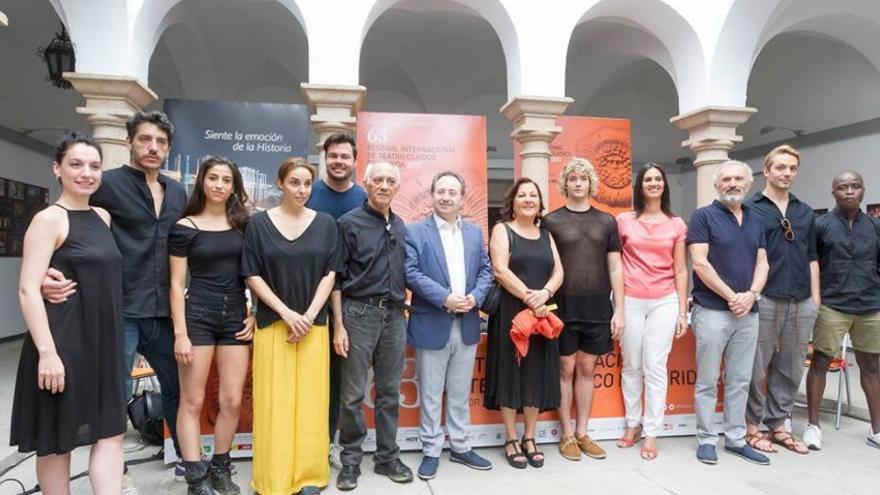 Presentación de Séneca / Festival de Teatro Clásico de Mérida