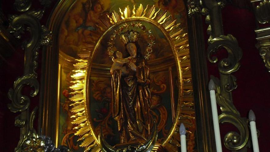Virgen de los Remdios. Elias Sanchez