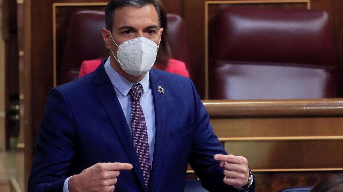 El presidente del Gobierno, Pedro Sánchez. EFE/ Fernando Alvarado