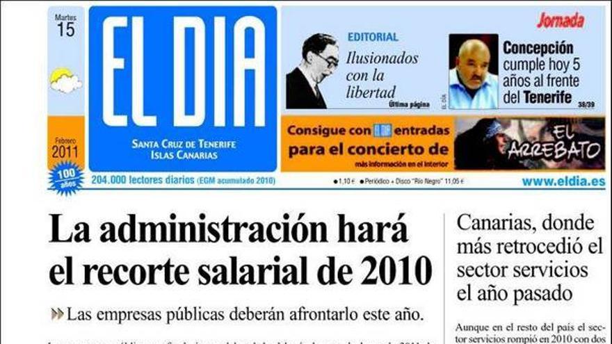 De las portadas del día (15/02/11) #4