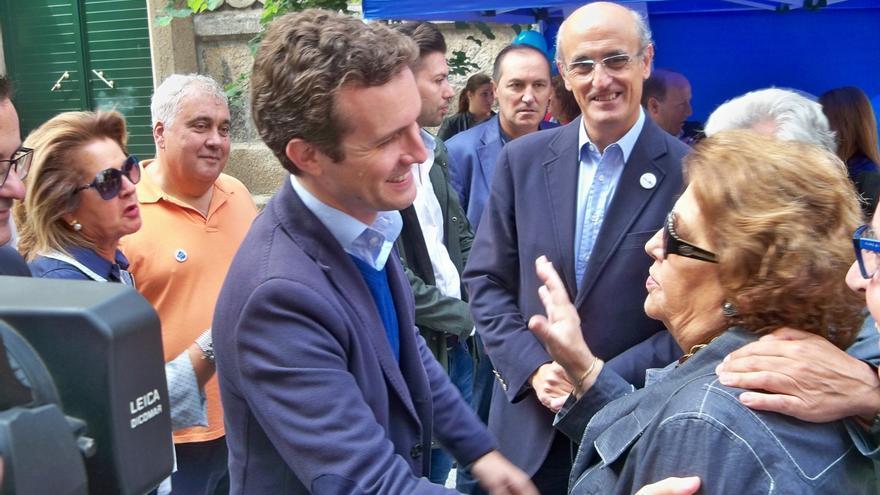 """Casado apela al """"voto útil"""" para que gobierne Feijóo frente a la """"nada"""" que representa el resto de partidos"""