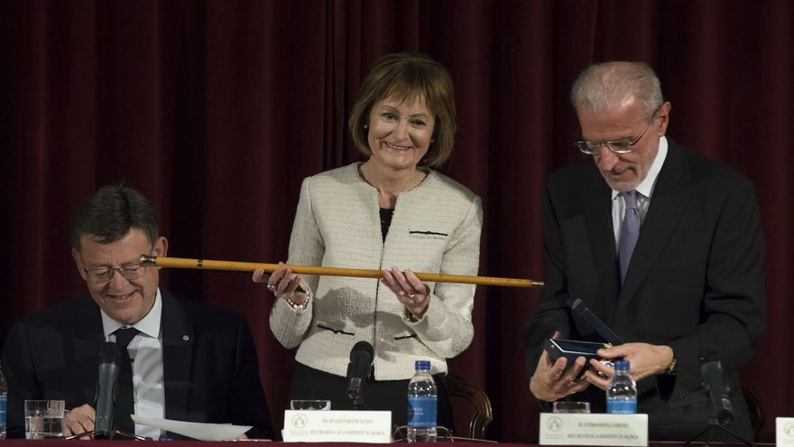 Mavi Mestre, nueva rectora de la Universitat de València