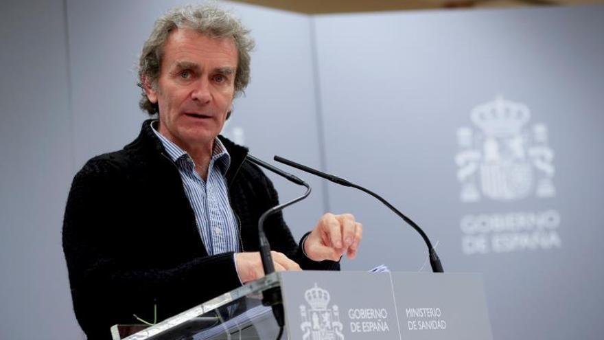 Fernando Simón, en su comparecencia de este viernes.