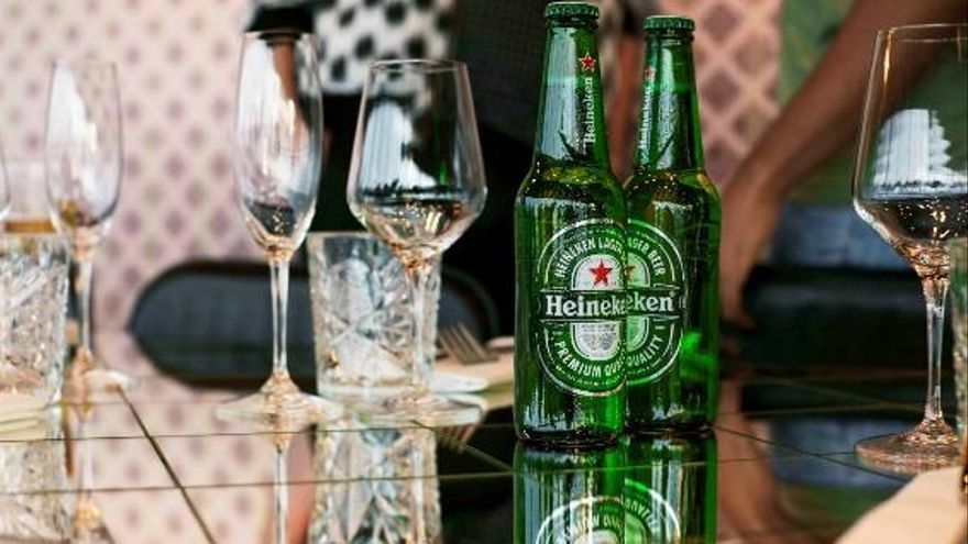 Cervezas Heineken
