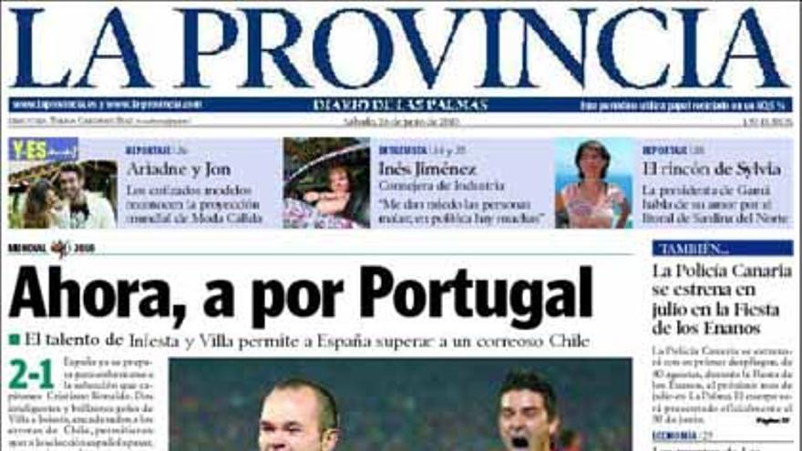 De las portadas del día (26/06/2010) #8