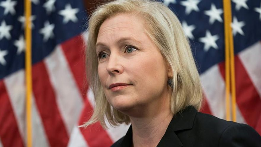 La demócrata Kirsten Gillibrand se plantea presentarse a la Presidencia de  EE.UU. en 2020