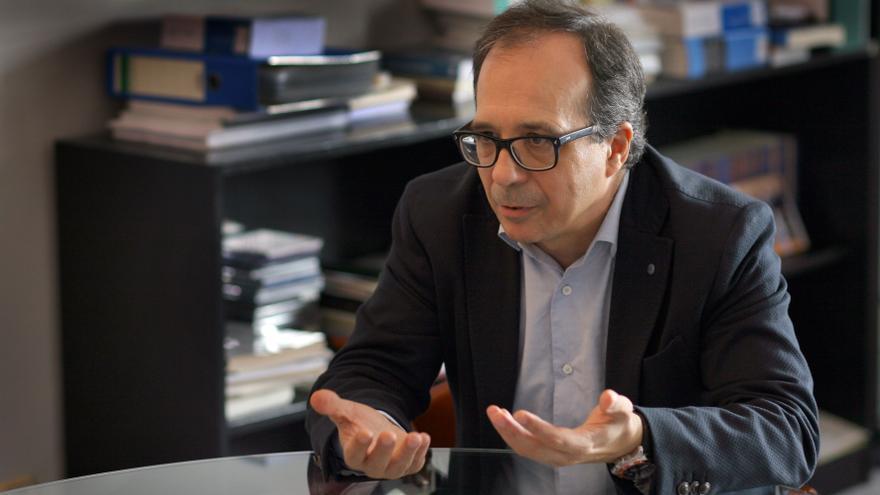 El presidente de la Corporació Valenciana de Mitjans de Comunicació, Enrique Soriano.